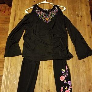 Coco dsign legging suit
